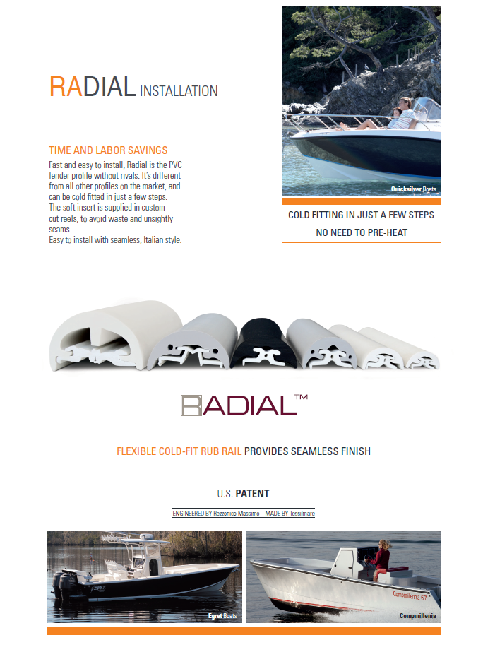 Mate-USA Radial Rub Rail