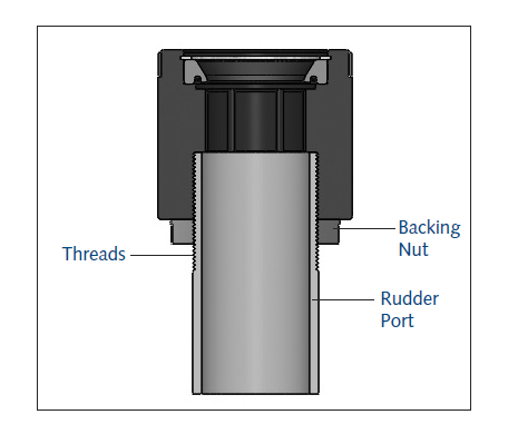 Rudder Port Bearing Type J Diagram 1