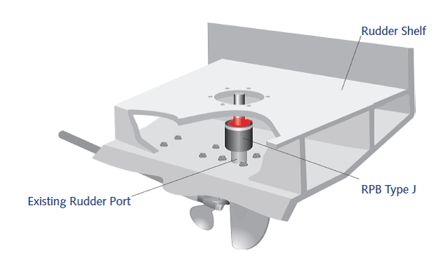 Rudder Port Bearing Type J Diagram 2