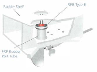 Rudder Port Bearing Type E Diagram