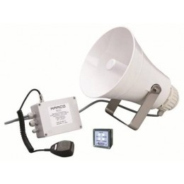 EW3-MS 24 Volt Signaling Whistle with Loudspeaker